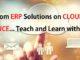 College Management System through ERP