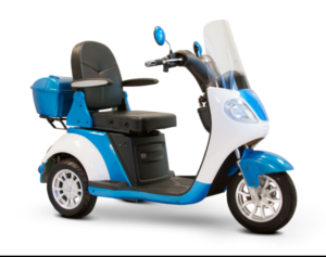 ew-42-fast-luxury-mobility-scooter-blue-and-white