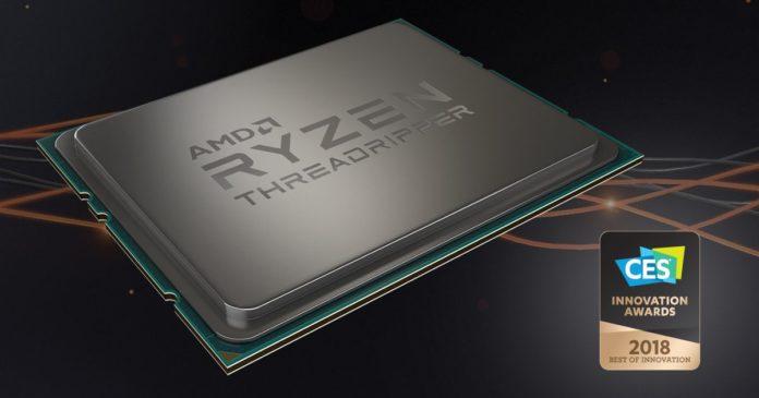 AMD Ryzen™ Threadripper™ 1950X Wins CES 2018