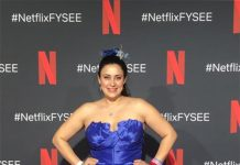 "Amor Sanchez attends the Netflix FYSEE ""Prom Night"" ATAS Official Red Carpet at Raleigh Studios on May 17, 2019 in Los Angeles, CA"